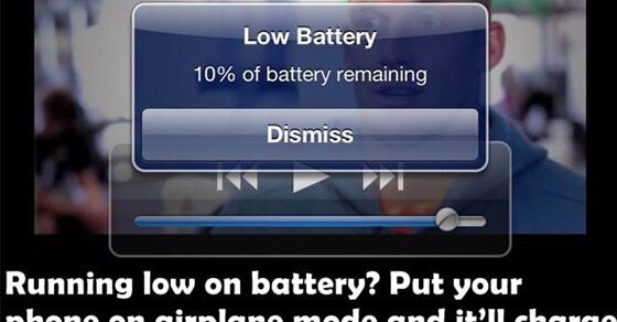 Put your phone on airplane mode when you charge it, it charges 3 times faster