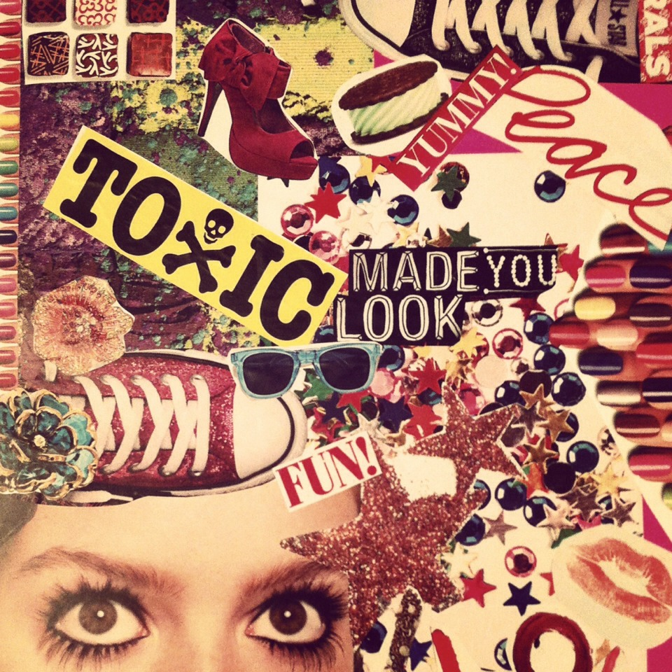 Art. This includes paper mâché, collages, wall decor or even a table layout for messy projects.