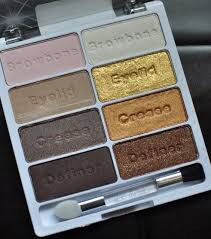 Then go with some eyeshadow. I like the brand wet n wild.