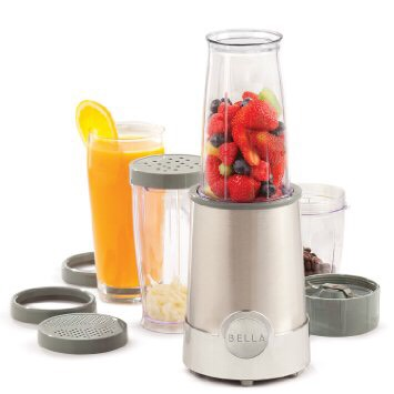 Bella 12-Piece Blender A great gift for anyone! It can be used to make smoothies, grate cheese, grind coffee, and so much more! It's also available in a variety of colors!  https://www.amazon.com/gp/aw/d/B001E7XGX6/ref=aw_wl_ov_dp_1_5?colid=1EDZZ51J5W08Y&coliid=I3JN2NS02WWZPP&vs=1