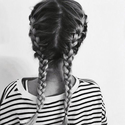 Once you hair is damp but not soaking wet split into 2 sections and start french braiding...if you can't do it yourself get someone to help you. Sleep with these braids in overnight...