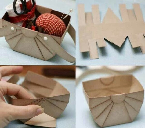 make this beatiful basket in few easy steps.. follow the shape, cut and glue/clip