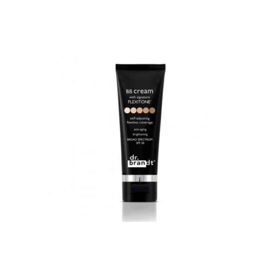 Dr. Brandt BB Cream With Signature Flexitone This works for all skin tones. $39 at Birchbox.