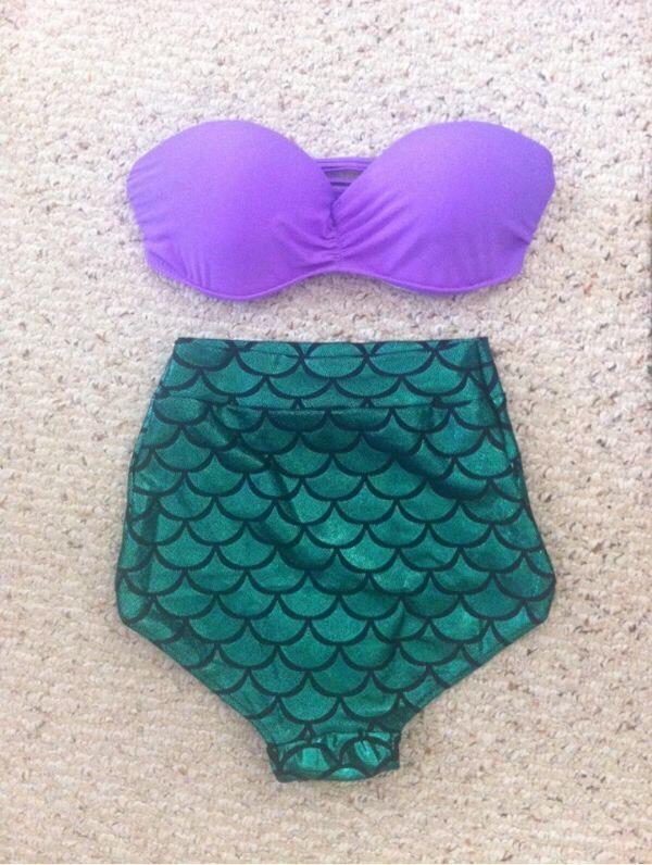 This Ariel bikini is soooo cute!! My favorite :)