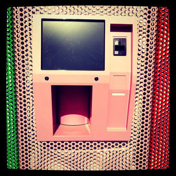 Theres a 24 hour cupcake vending machine in Las Angeles, California.
