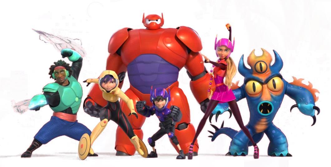 Big hero 6 U Comedy :action