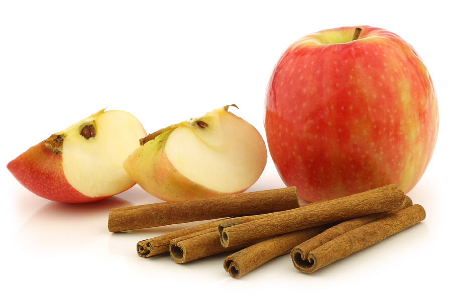Apple & cinnamon infused water has several benefits. For one, you get the hydration you need from water without artificial sweeteners. Apples are great for energy and they contain many vitamins and minerals. Cinnamon aids in healthy cholesterol and boosts the metabolism.