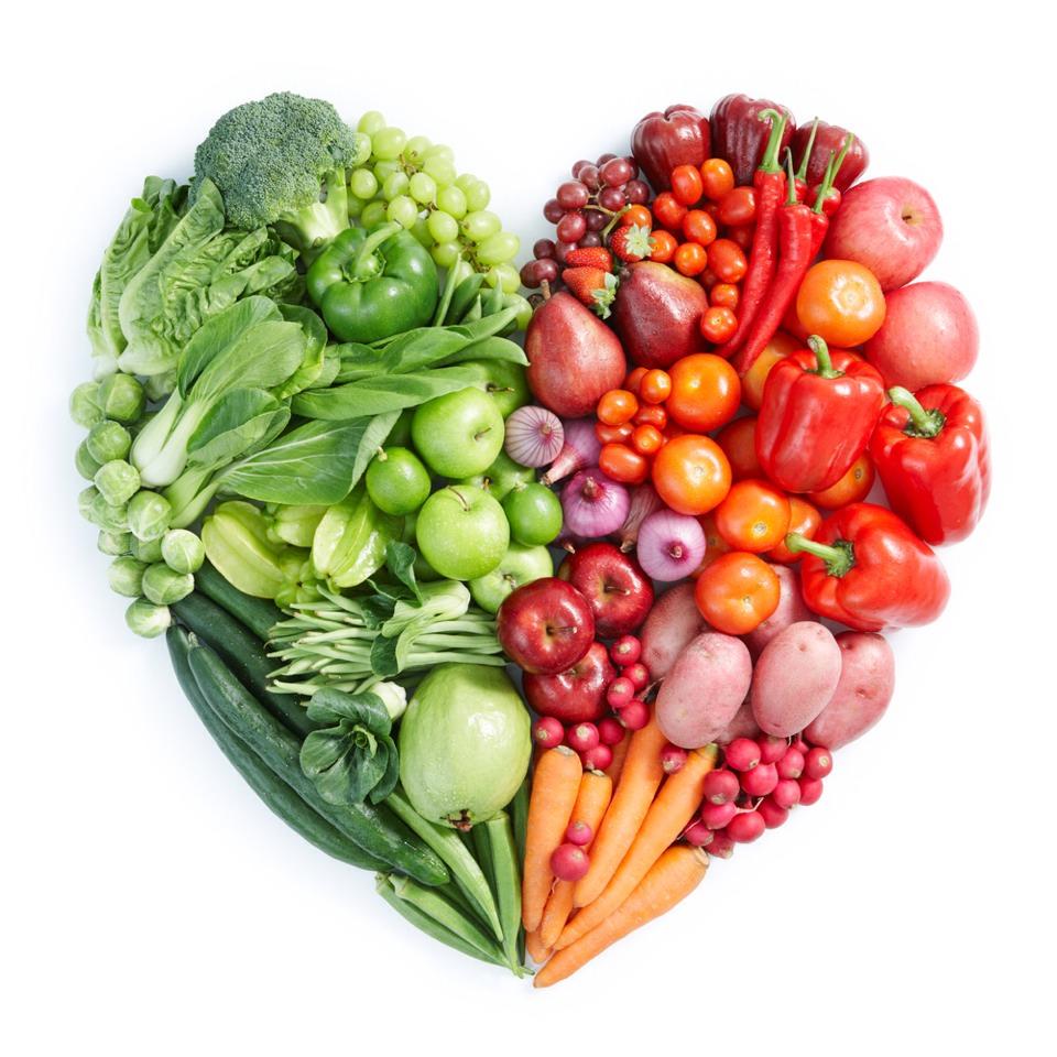 I love fruits and veggies!!