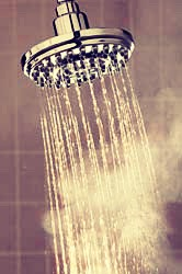 Hot showers may feel tempting at this time of year but they strip your skin of moisture instead opt for short warm showers