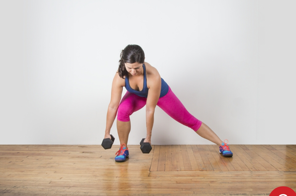 Do 60 of these  or  2 sets of 30  (weights optional)