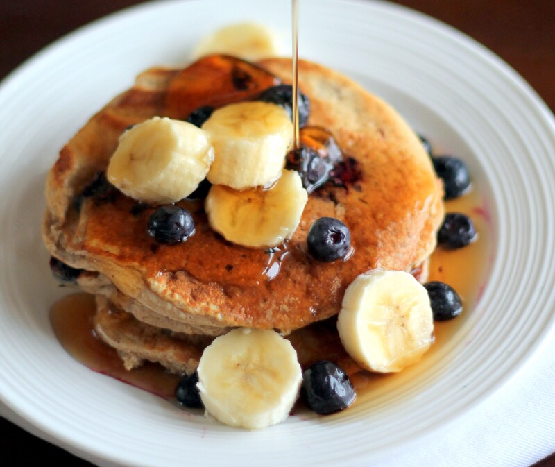 Protien banana pancakes