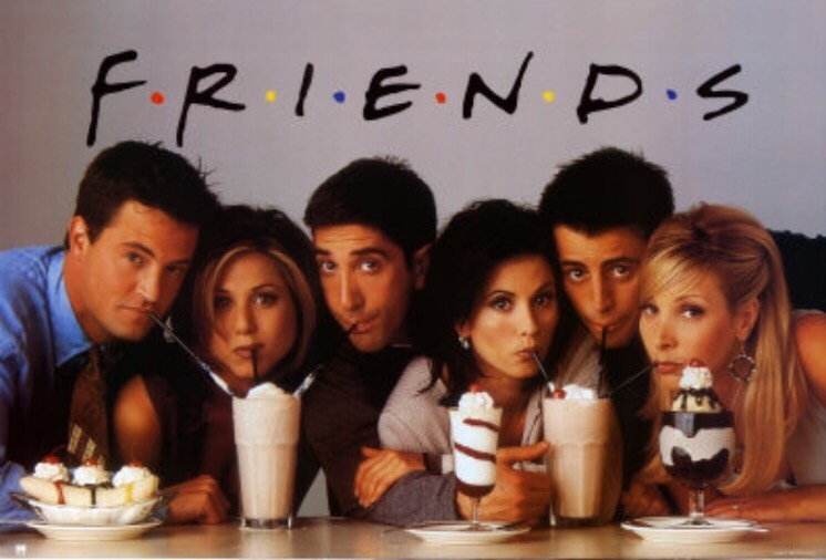 Friends is a classic. It's great for any age and you can learn some awesome lessons about friendship as you follow these friends through relationships, work, and of course friends!