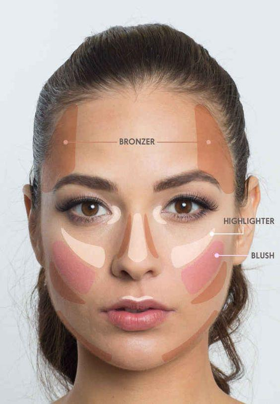 4. CONTOUR THE AREAS YOU WANT TO RECEDE:   Sweep on your preferred contour shade on these specific areas to downplay prominent features and create natural-looking definition. ➡️