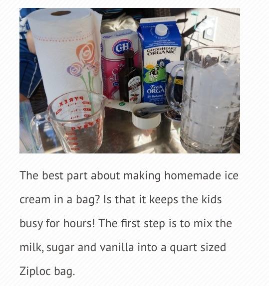 Ingredients  Half cup Milk Half cup Sugar 2 tbs Vanilla