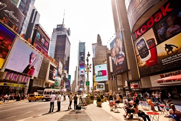 New York City hosts infinite urban adventures. Wander through Central Park or tour the exhibits at the Met. Afterward, catch a Broadway show or peruse SoHo's stylish boutiques. And at night, sit down at a trendy restaurant or admire Manhattan's glittering skyscrapers.