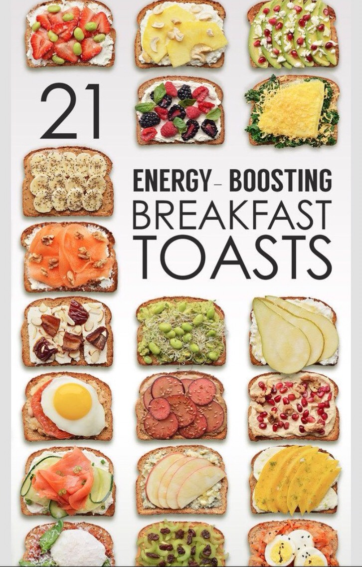 recipes here! 🔻  http://www.buzzfeed.com/tashweenali/energy-boosting-breakfast-toasts?bfpi&s=mobile