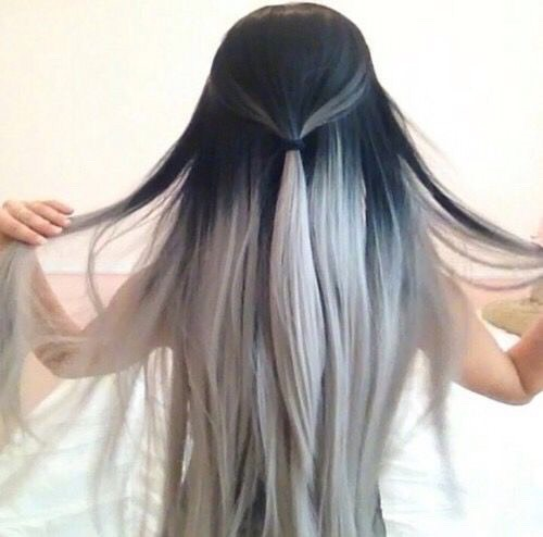 And just beautiful hair💜😍