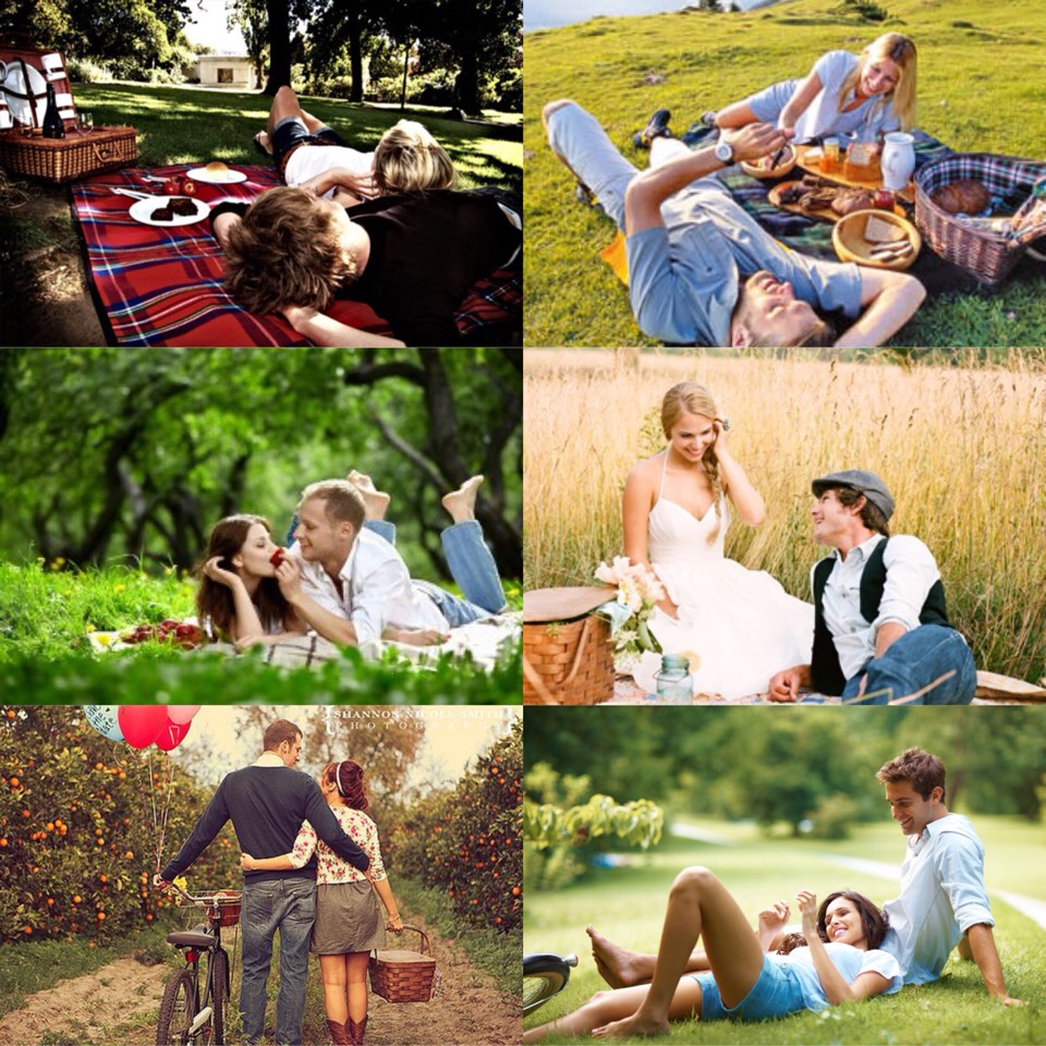 4. picnic. it's a good getaway for a couple hours to celebrate your love😊💜