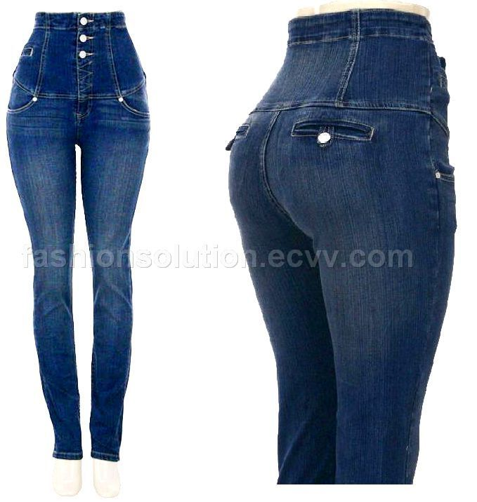 high waist jeans are a must tuck in so always tuck your top in