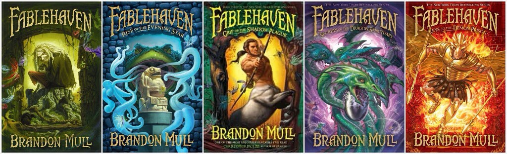 Great book series. Magic, action, even some romance-y flirtations between two characters in a later book. Great book for all ages...