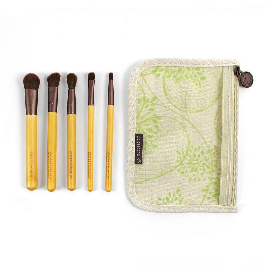 The Natural Brush Set  EcoTools 6-pc. Essential Eye Makeup Brush Set ($8) For your green goddess friend who is always obsessed with maintaining her makeup.