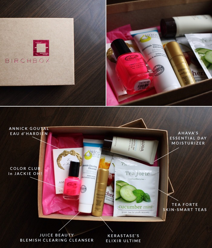 What is it? It's a monthly subscription that's tailored for you. They send you beauty samples every month. Cost? $10. That's it! Your getting quality stuff from brands like Stila! The products in the box are based on your likes, so you'll always get g