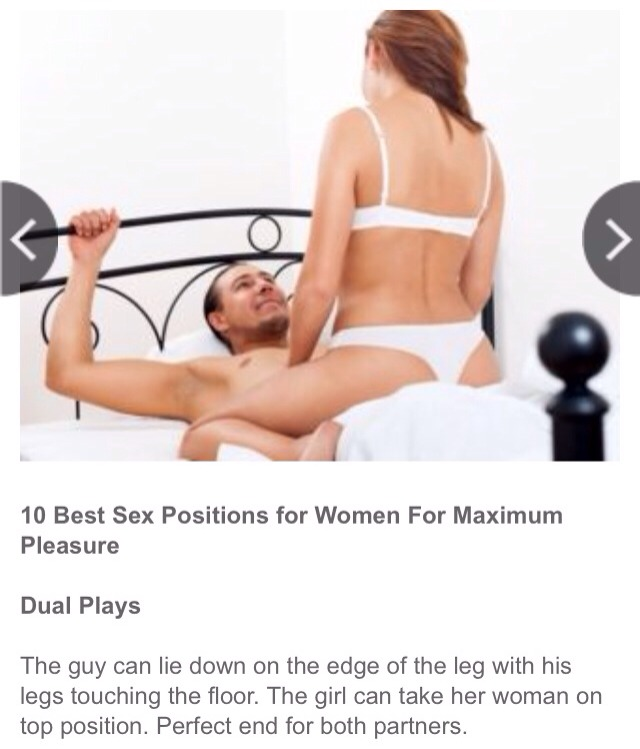 Sex tips that will turn women off