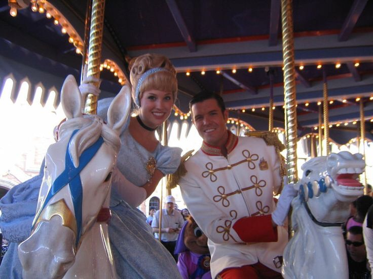 Prince Charming's Regal Carrousel pin around, up and down to joyous music atop a regal steed at this classic attraction.  Height: Any FP+: No