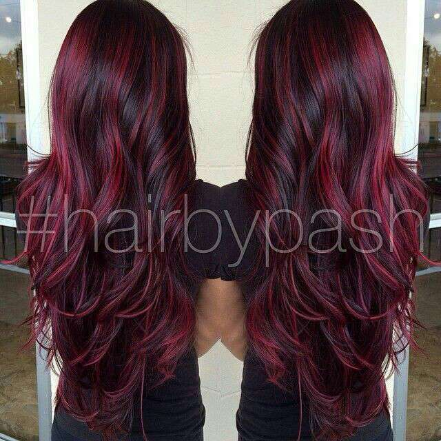 Colors Winter Highlights For Brown Hair Image Collections Choice Extension
