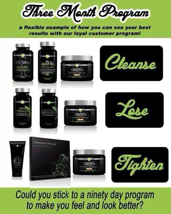 I challenge you to become cleanse,lose,and tighten with me!