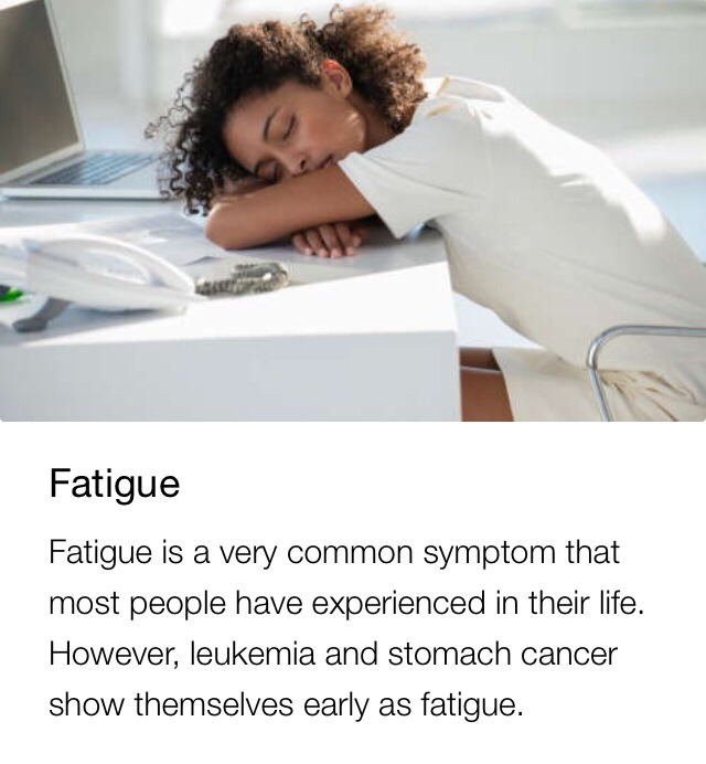 If you are struggling with constant tiredness, it is best to talk with your doctor to find a solution. While cancer is unlikely to be the cause, your fatigue could be a sign of a different health issue.