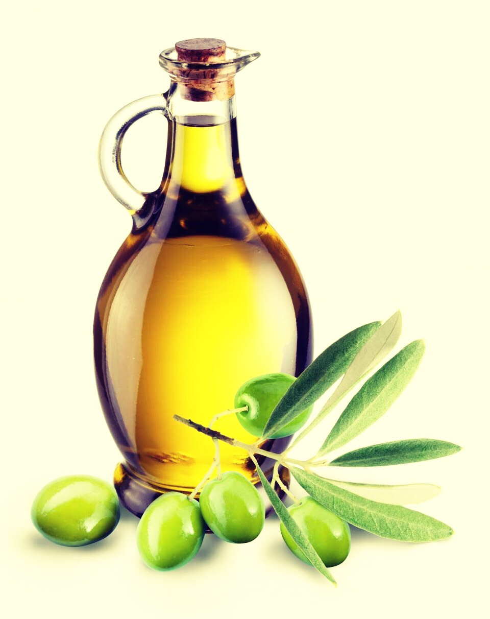 First you'll need some olive oil. You'll need 1/3 of the amount needed for your hair so it really depends.