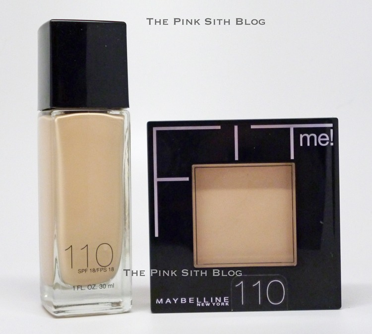 Maybelline FitMe Foundations