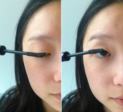 5. Coat both sides of your lashes to thicken them.