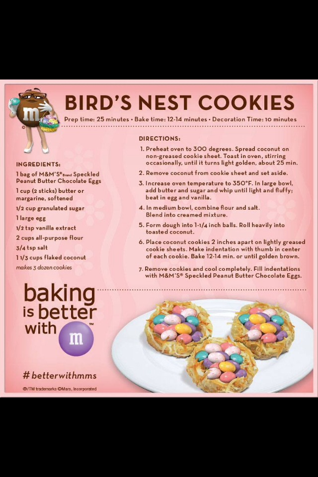 Such an easy recipe, and the cookies are perfect for springtime. Enjoy!
