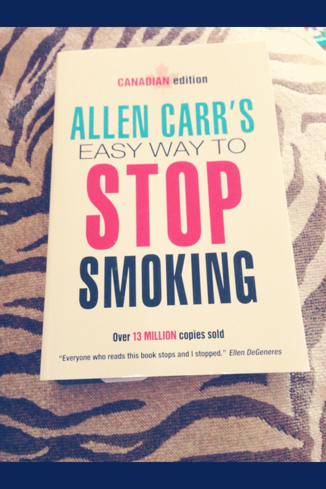 The book easy way to stop smoking by  Allen cares has helped many woman quit smoking . Find this at your local book store