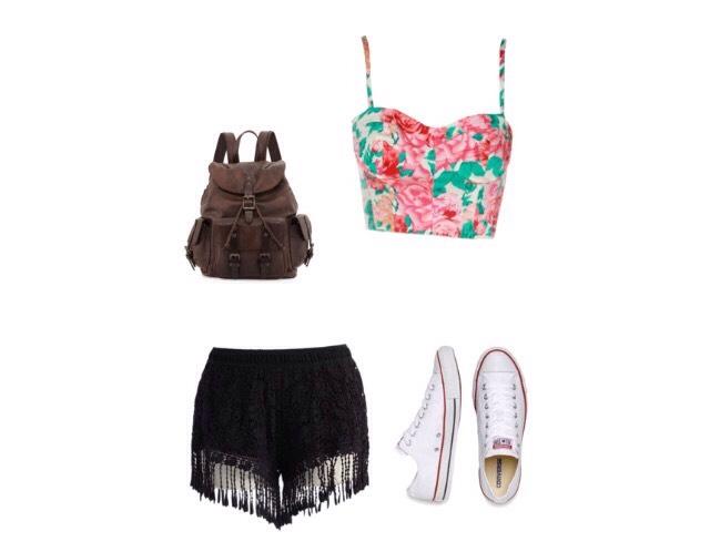 Shirt - chiarafashion.co.uk  Shorts- chic wish  Shoes - liberty.co.uk  Bag - cusp.com