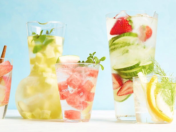 FRUIT-INFUSED WATER – 6 WAYS Get in your daily water quota with this Fruit-Infused Water – 6 ways! From berries, to citrus, to cucumber and herbs, we've got you covered for refreshing drink recipes all summer long!