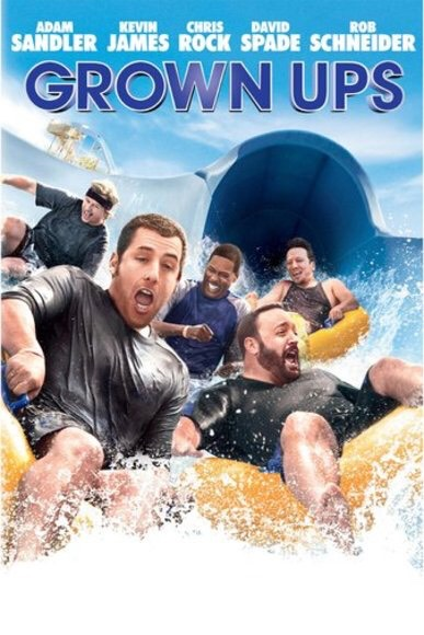 """""""Grown ups"""" is a really good comedy to watch"""