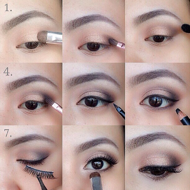 This tutorial uses Urban Decay NAKED 2 *Lid : Chopper *Outer Lid (V
