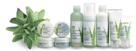 Sensitive skin? Try aloe Vera skin products. Aloe Vera is good for sensitive skin as it is very gentle.