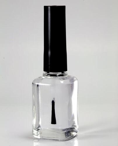First get a clear nail polish.