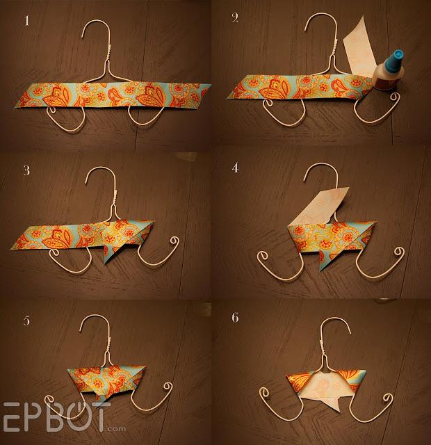 wrap with cute paper