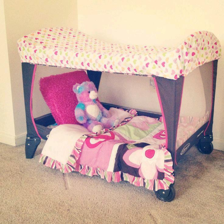 How To Turn A Playpen Into A Toddler Bed By Georgette Musely