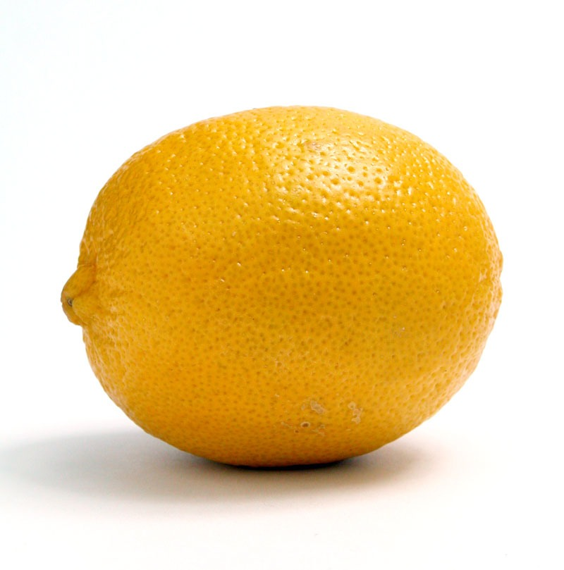 Rub it on. Rub a lemon rind over your skin. It helps cleanse the skin as well as slowly lightening it over a period of time.