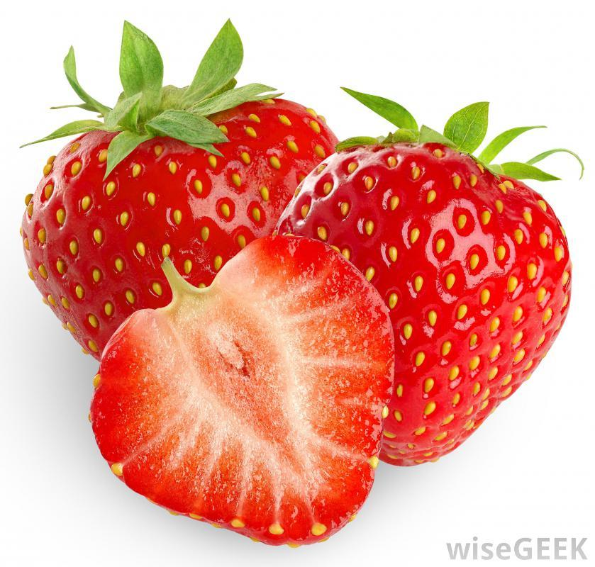 Strawberries contain salicylic acid (which is great for acne-prone skin), while lemon juice helps to tighten pores and remove old, dead skin cells. Yogurt and honey have antibiotic properties, and this entire blend is as good for your outsides as it is in a drink. Use any leftovers in a slurp-able s