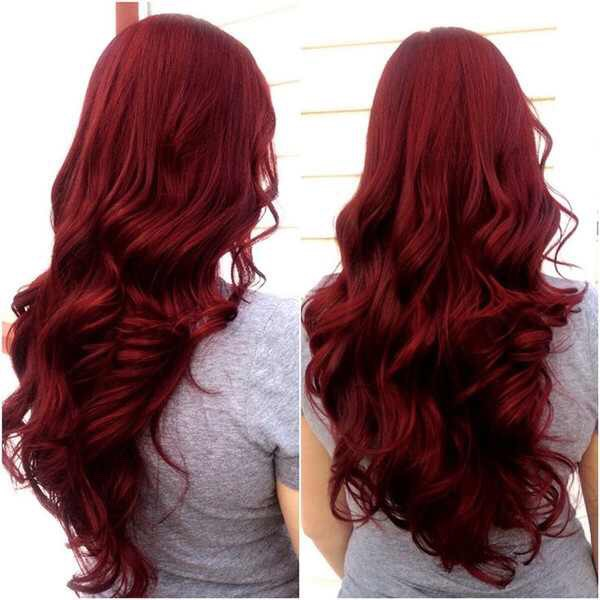 Red Rose Hair
