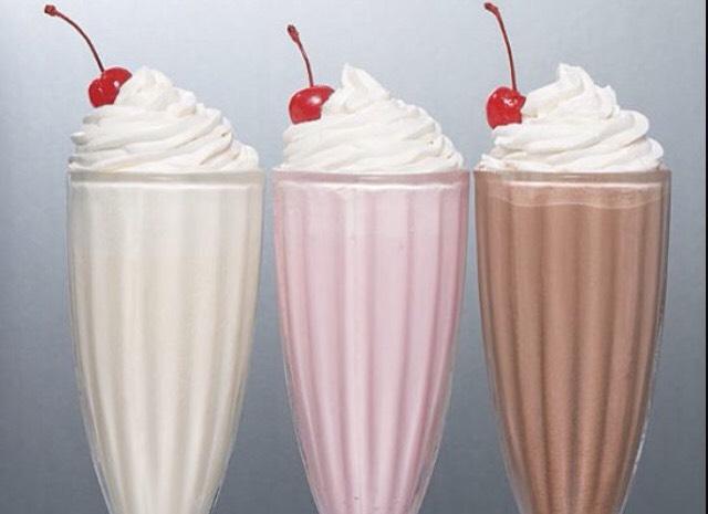 Simple milkshakes