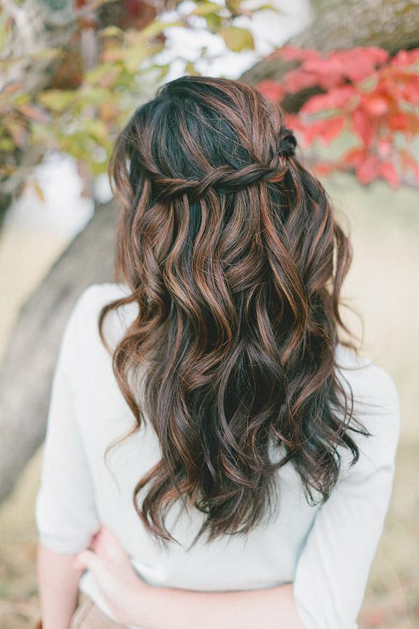 Waterfall Twist/Waterfall with Curls
