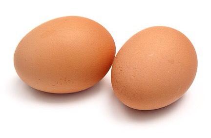 2 eggs...